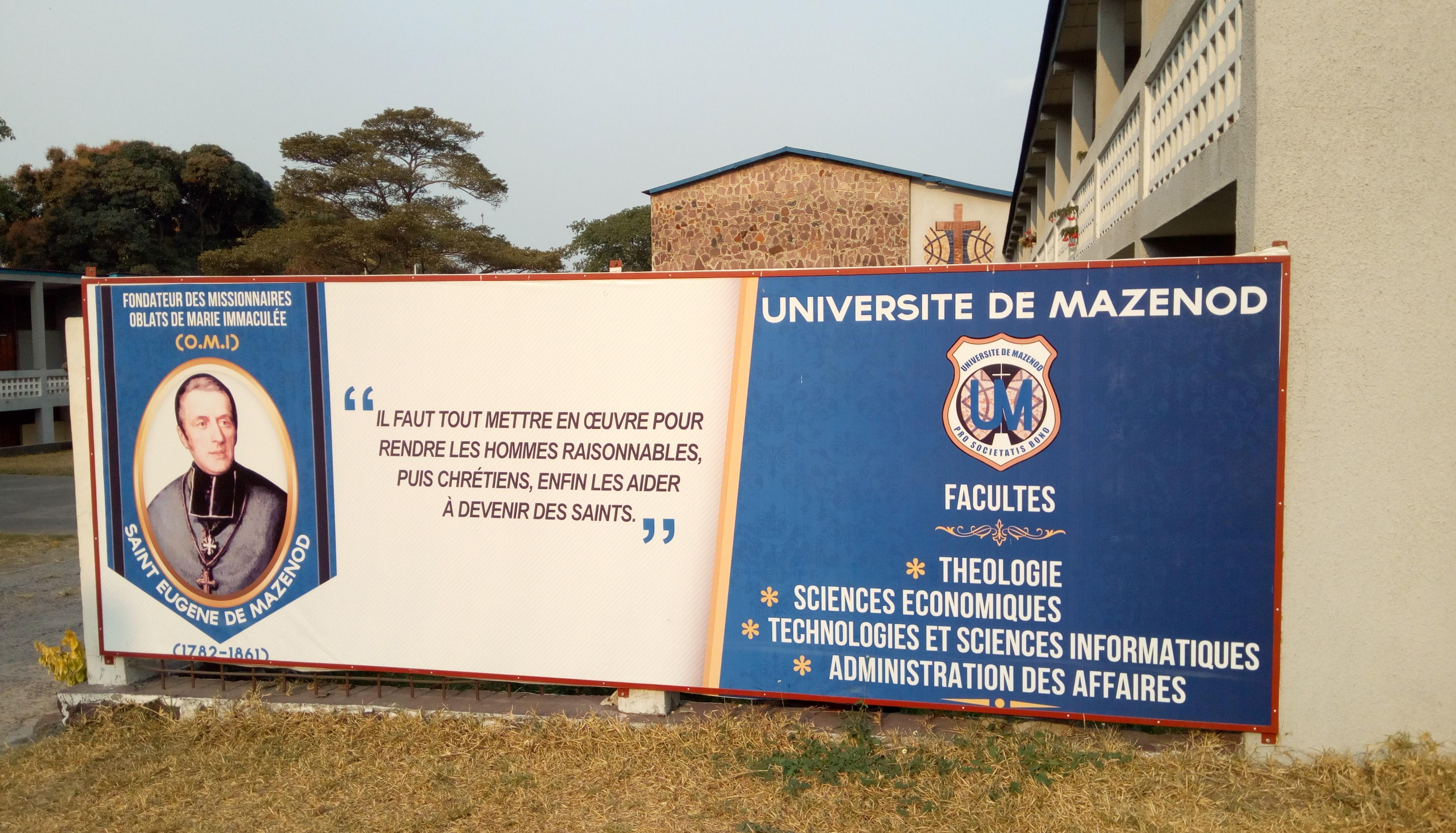 Inscriptions à l'Université De Mazenod
